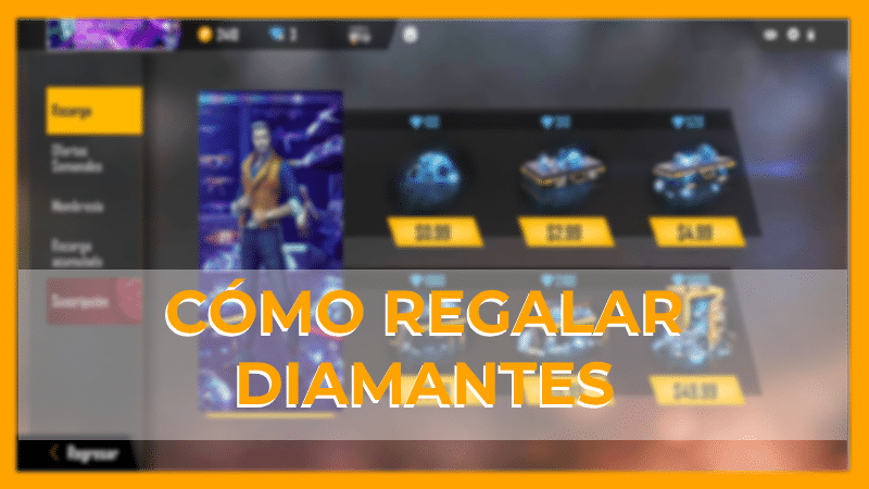 como regalar diamantes free fire gratis