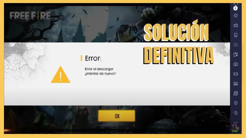 reparar error al descargar archivo en free fire solucion