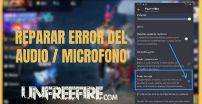 Error del audio del micrófono de Free Fire en Android 10: La Solución