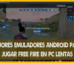 Mejores Emuladores para JUGAR Free Fire en un PC